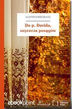Do p. Davida, snycerza posągów