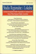 Studia Regionalne i Lokalne nr 2(52)/2013