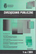 Zarządzanie Publiczne nr 1(15)/2011