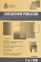 Zarządzanie Publiczne nr 2(12)/2010