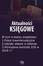 Aktualności księgowe, wydanie październik 2015 r.  część II