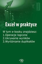 Okładka książki Excel w praktyce, wydanie luty 2016 r