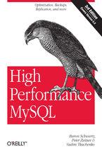Okładka książki High Performance MySQL. Optimization, Backups, and Replication. 3rd Edition