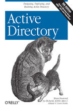 Okładka książki Active Directory. Designing, Deploying, and Running Active Directory. 5th Edition