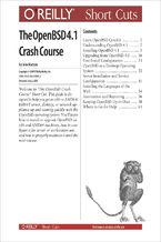 Okładka książki The OpenBSD 4.0 Crash Course