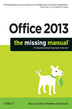 Okładka książki Office 2013: The Missing Manual