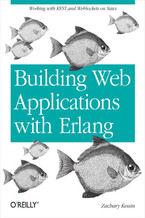 Okładka książki Building Web Applications with Erlang. Working with REST and Web Sockets on Yaws