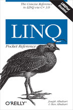 Okładka książki LINQ Pocket Reference. Learn and Implement LINQ for .NET Applications