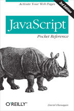 Okładka książki JavaScript Pocket Reference. Activate Your Web Pages. 3rd Edition