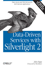 Okładka książki Data-Driven Services with Silverlight 2. Data Access and Web Services for Rich Internet Applications