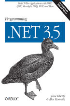 Okładka książki Programming .NET 3.5. Build N-Tier Applications with WPF, AJAX, Silverlight, LINQ, WCF, and More