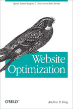Okładka książki Website Optimization. Speed, Search Engine & Conversion Rate Secrets