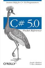 Okładka książki C# 5.0 Pocket Reference. Instant Help for C# 5.0 Programmers