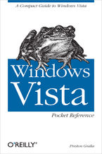 Okładka książki Windows Vista Pocket Reference. A Compact Guide to Windows Vista