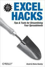 Okładka książki Excel Hacks. Tips & Tools for Streamlining Your Spreadsheets. 2nd Edition