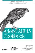 Okładka książki Adobe AIR 1.5 Cookbook. Solutions and Examples for Rich Internet Application Developers
