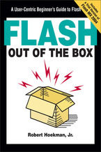 Okładka książki Flash Out of the Box. A User-Centric Beginner's Guide to Flash