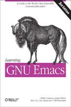 Okładka książki Learning GNU Emacs. A Guide to Unix Text Processing. 3rd Edition