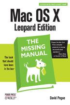 Okładka książki Mac OS X Leopard: The Missing Manual