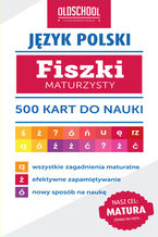 Język polski. Fiszki maturzysty. 500 kart do nauki