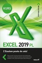 Okładka książki Excel 2019 PL. Kurs