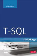 Okładka książki T-SQL dla każdego
