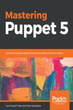 Okładka książki Mastering Puppet 5