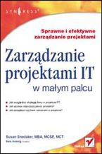 Okładka książki Zarządzanie projektami IT w małym palcu