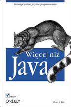 Okładka książki Więcej niż Java