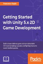 Okładka książki Getting Started with Unity 5.x 2D Game Development
