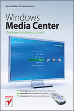 Okładka książki Windows Media Center. Domowe centrum rozrywki