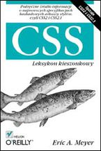 Okładka książki CSS. Leksykon kieszonkowy