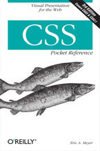 Okładka książki CSS Pocket Reference. Visual Presentation for the Web. 3rd Edition