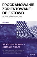 Okładka książki Projektowanie zorientowane obiektowo. Wzorce projektowe. Wydanie II