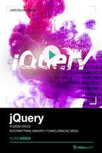 Okładka książki jQuery. Kurs video. Poziom drugi. Interaktywne banery i funkcjonalne menu