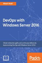 Okładka książki DevOps with Windows Server 2016