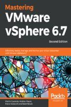 Okładka książki Mastering VMware vSphere 6.7