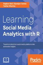 Okładka książki Learning Social Media Analytics with R