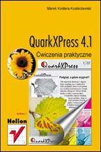 Okładka książki QuarkXPress 4.1. Ćwiczenia praktyczne
