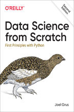 Okładka książki Data Science from Scratch. First Principles with Python. 2nd Edition
