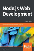 Okładka książki Node.js Web Development