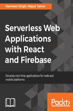 Okładka książki Serverless Web Applications with React and Firebase