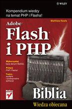 Okładka książki Adobe Flash i PHP. Biblia