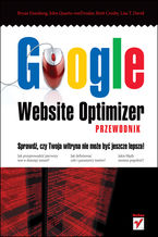 Okładka książki Google Website Optimizer. Przewodnik