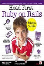 Okładka książki Head First Ruby on Rails. Edycja polska