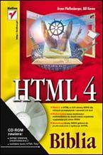 Okładka książki HTML 4. Biblia