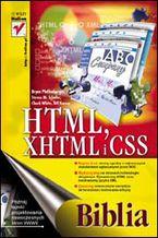 Okładka książki HTML, XHTML i CSS. Biblia