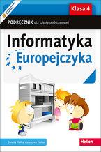 Okładka książki Informatyka Europejczyka. Podręcznik dla szkoły podstawowej. Klasa 4