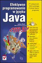 Okładka książki Efektywne programowanie w języku Java