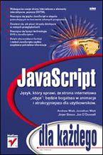 Okładka książki JavaScript dla każdego
